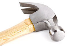 Hammer over white. Stock Image