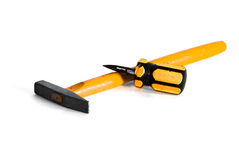 Hammer and Screwdriver Royalty Free Stock Photography