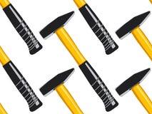 Hammer seamless pattern Stock Image