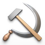 Hammer And Sickle Royalty Free Stock Image
