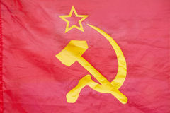 Hammer and sickle Royalty Free Stock Photos