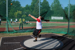 Hammer Throw Stockfotografie
