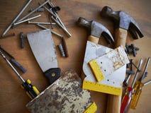 Hammer tool screwdriver toolbox Royalty Free Stock Photo