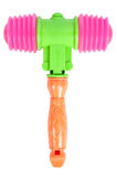 Hammer toy isolated Royalty Free Stock Photos