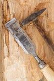 Hammer und Meißel Stockfotos