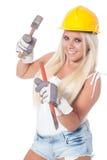Hammer und Meißel Stockfoto
