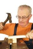 Hammer und Nagel Lizenzfreies Stockbild