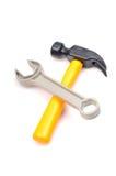 Hammer und Schlüssel Stockbilder