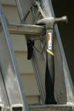 Hammer und Strichleiter Lizenzfreies Stockbild
