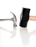 Hammer und Vorschlaghammer Lizenzfreie Stockfotos