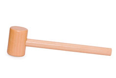 Hammer wooden Royalty Free Stock Photo