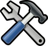 Hammer, Wrench, Repair, Work Stock Photography