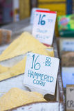Hammered corn at a market Royalty Free Stock Photos