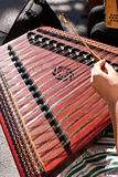 Hammered dulcimer Royalty Free Stock Photo