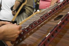 Hammered dulcimer Stock Photos