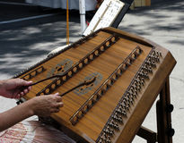 Hammered Dulcimer royalty free stock photography