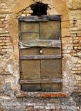 Hammered window Royalty Free Stock Photos