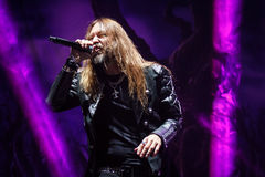 Hammerfall at Masters of Rock 2015 Stock Photo