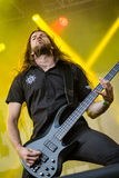 Hammerfall at Masters of Rock 2015 Royalty Free Stock Image