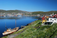 Hammerfest ladscape Stockfotos