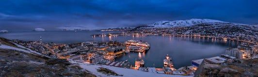 Hammerfest Noruega Foto de archivo libre de regalías