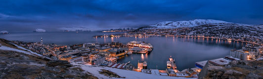 Hammerfest. Norway Royalty Free Stock Photo
