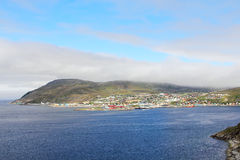 Hammerfest town Stock Images