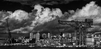 Hammerhead crane, Sydney Royalty Free Stock Images