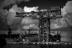 Hammerhead crane, Sydney Royalty Free Stock Photo