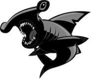 Hammerhead shark vector illustration