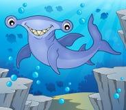 Hammerhead shark theme image 2 Stock Photo