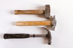 hammers gammal set tre Arkivfoto