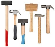 Hammers and mallet Stock Image