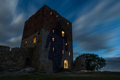 Hammershus castle ghosts Royalty Free Stock Images