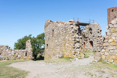 Hammershus kasztelu ruiny Obraz Royalty Free