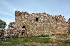 Hammershus ruins Royalty Free Stock Photo