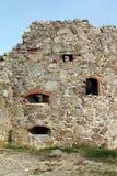 Hammershus ruins Royalty Free Stock Image