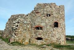 Hammershus ruins Stock Photos
