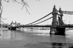 Hammersmith Brücke Lizenzfreie Stockfotografie