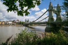 Hammersmith Brücke Stockbild