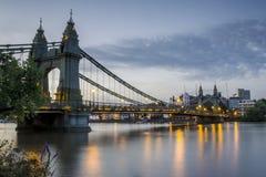 Hammersmith Brücke Lizenzfreies Stockfoto