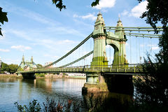 Hammersmith bridge Royalty Free Stock Photos
