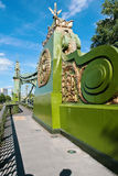 Hammersmith bridge Royalty Free Stock Images