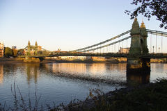 Hammersmith bridge Royalty Free Stock Image