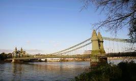 Hammersmith Bridge, London Royalty Free Stock Photos