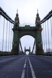 Hammersmith Bridge in the morning Stock Images