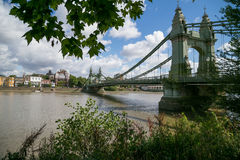 Hammersmith Bridge Stock Image