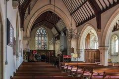 HAMMERWOOD, ΑΝΑΤΟΛΗ SUSSEX/UK - 16 Ιανουαρίου: Εκκλησία του ST Stephen μέσα Στοκ Εικόνα