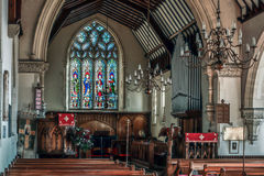 HAMMERWOOD, SUSSEX/UK DO LESTE - 16 de janeiro: A igreja de St Stephen dentro Imagens de Stock