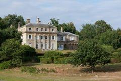HAMMERWOOD, SUSSEX/UK - 23 JUILLET : Vue de Chambre de parc de Hammerwood photos libres de droits